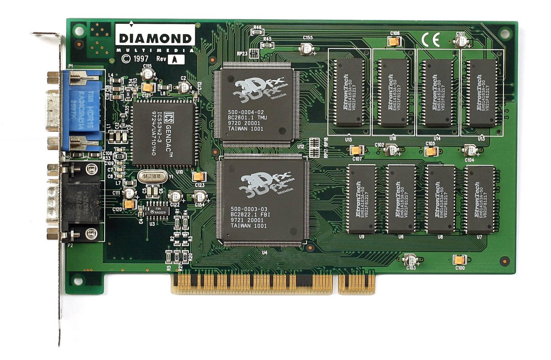 3DFX Voodoo: Hace 20 años armar una PC era fácil porque casi no había opciones.