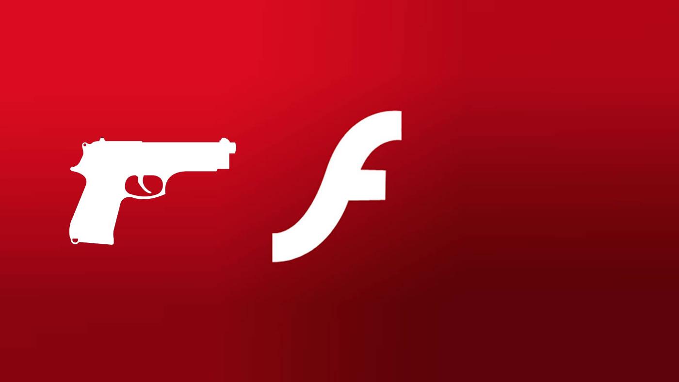Tiro de gracia. A matar Flash Player señores.