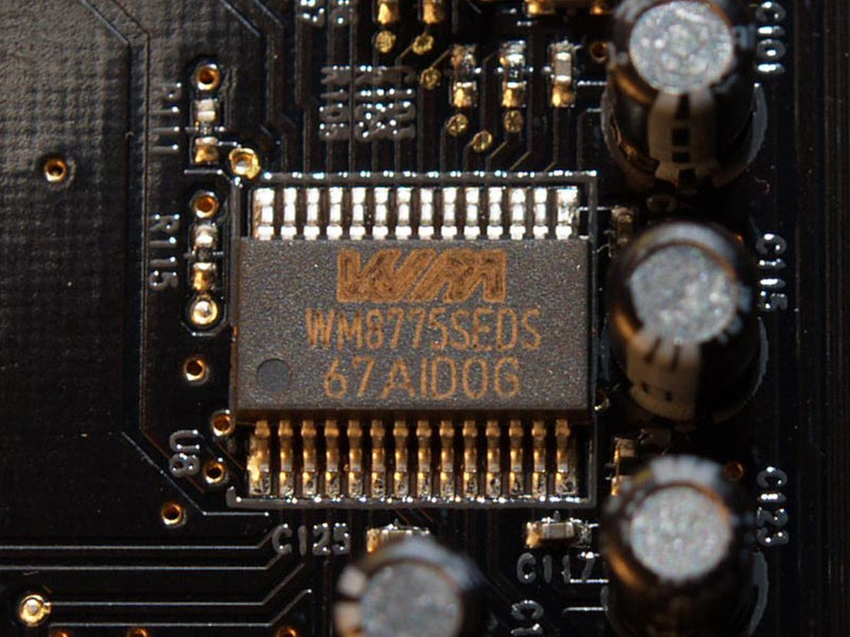 Wolfson Microelectronics WM8775SEDS: El DAC de la Soundblaster X-FI PRO