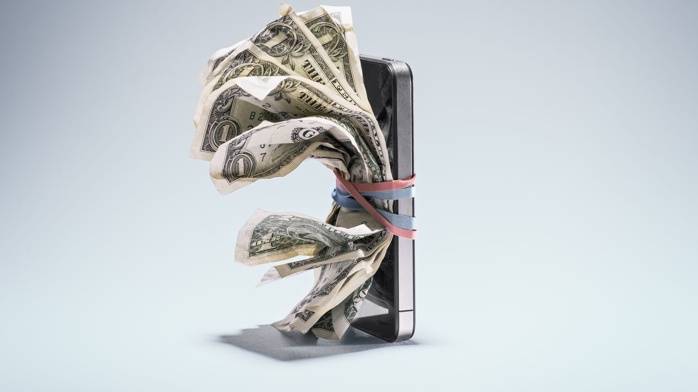 Los iPhone suelen mantener bastante bien el precio...