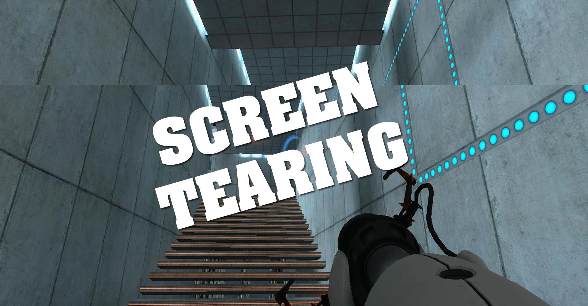 how to fix screen tearing on fortnite
