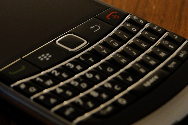 Teclado de Blackberry 9700