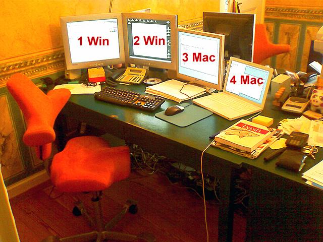 Varias PC's con un solo mouse con Synergy