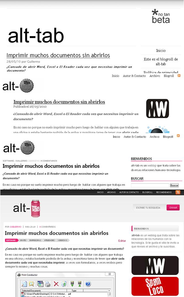 Todos los themes de alt-tab