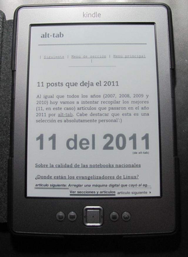 alt-tab en el kindle