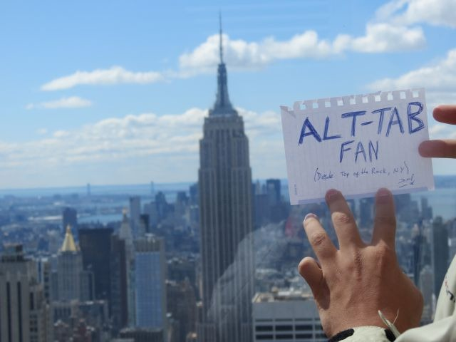 alt-tab fan en New York