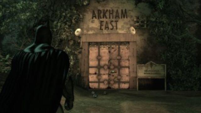 Pantalla de carga de Batman Arkham Asylum