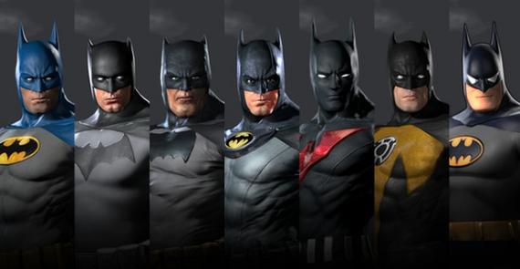 Todos los Batmans