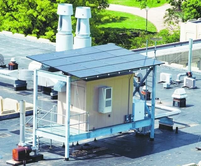 Pequeño datacenter solar