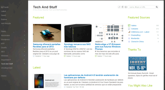 Feedly, una vuelta de rosca al lector de feeds