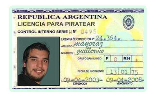 Licencia para piratear