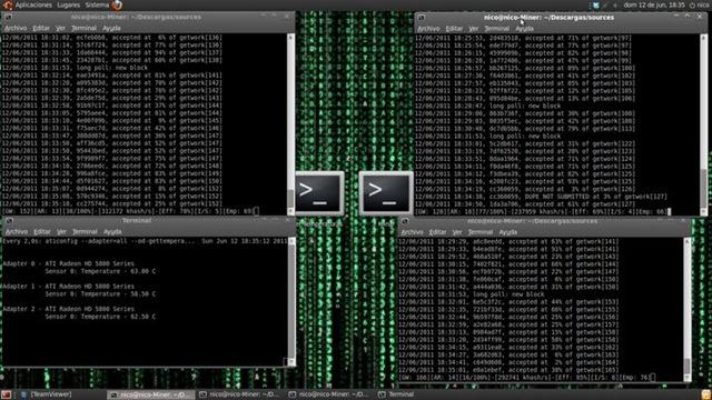 Desktop minero