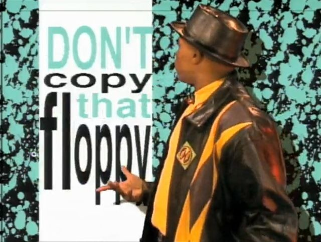 No copies el floppy