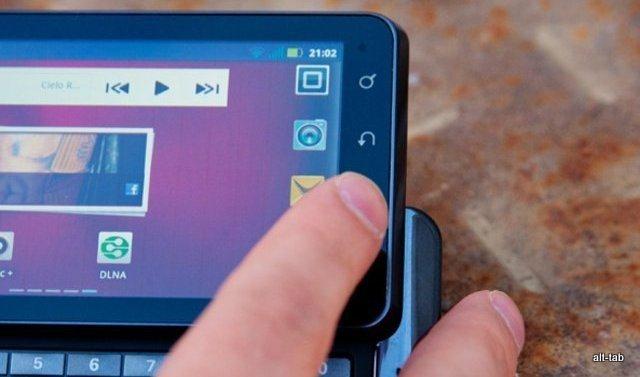 Primer contacto con el Motorola Milestone