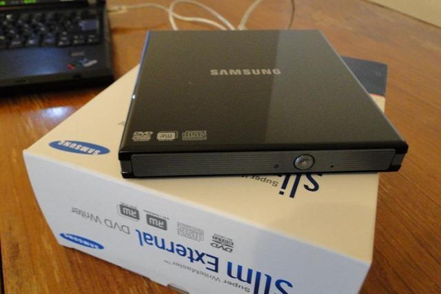 Review DVD RW externa Samsung