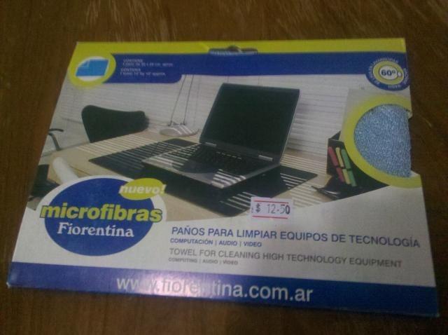 Paño de microfibra